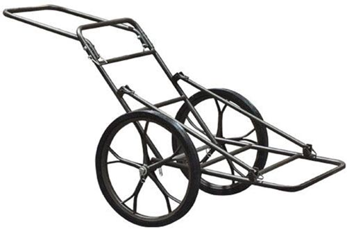 500lb Deer Carts Game Hauler Utility Hunting Accessories Gear Dolly Carts