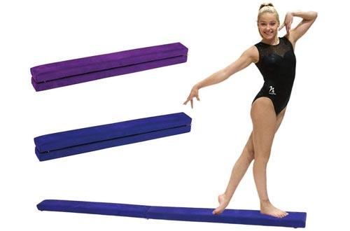 Portable Folding Gymnastics Balance Beams, Durable Horizontal Bar Home Gym Training Balance Beams.
