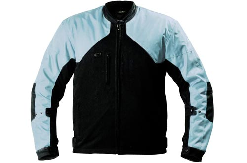 Fulmer, LJ134BLUM, Women's Supertrak II Motorcycle Jackets Textile/Mesh CE Armor - Blue, M