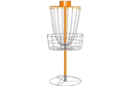 Yaheetech 18 Chain Portable Disc Golf Baskets Target- Golf Goals Baskets Practice Sets