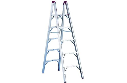GP Logistics SLDD6 6' Compact Folding Ladders