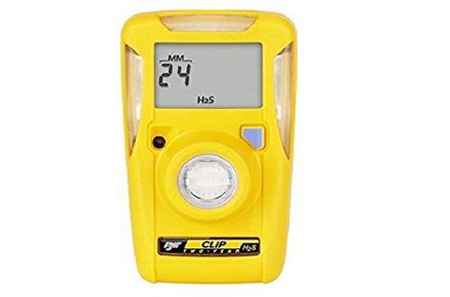 BW Technologies BWC2-H BW Clip Single Gas H2S Monitors, 10/15