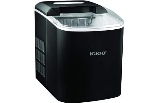 Igloo ICEB26BK Portable Electric Countertop 26-Pound Automatic Ice Makers, Black