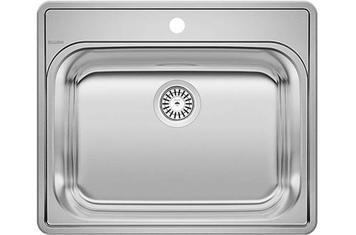 BLANCO 441078 ESSENTIAL Drop-In Stainless Steel Laundry Sinks
