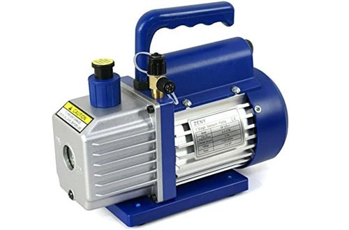 ZENY 3.5CFM Single-Stage Rotary Vane Vacuum Pumps