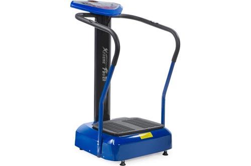 XtremepowerUS 2000W Slim Full Body Vibration Platform Exercise Crazy Fit Machines