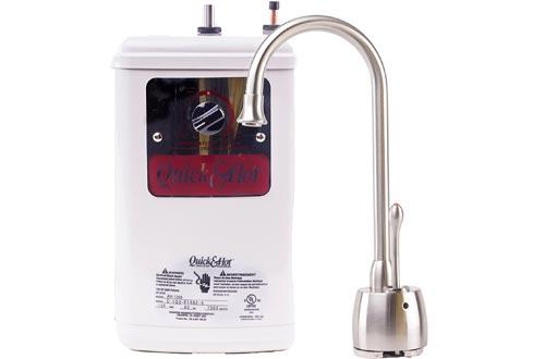 Waste King H711-U-SN Quick & Hot Water Dispensers Faucet & Tank - Satin Nickel