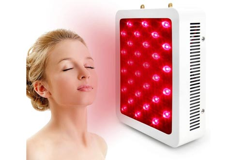 300W Red Light Therapy Lamp Red 660nm & Near Infrared 850nm, Full Body Led Light Therapy for Skin and Pain Relief
