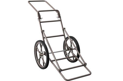 MB-THISTAR Huge Capacity Deer Carts Foldable 500lbs Hauler Gear Dolly Carts Hunting Practical
