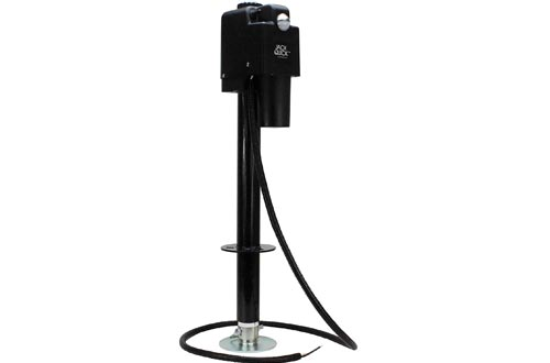 Quick Products Black JQ-3500B Electric Tongue Jacks