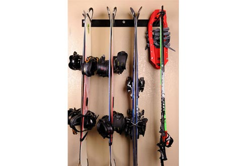Rough Rack 4-8 Ski & Snowboard Ski Racks