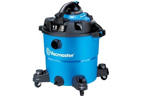 Vacmaster VBV1210, 12-Gallon 5 Peak HP Wet/Dry Shop Vacuums with Detachable Blower