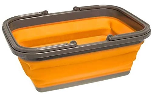 UST FlexWare Collapsible Sinks with 2.25 Gal Wash Basin for Washing Dishes and Person During Camping
