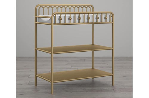 Little Seeds Monarch Hill Ivy Metal Changing Tables, Gold