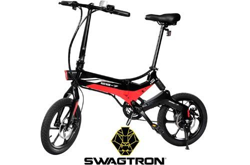 Swagtron Swagcycle EB-7 Elite Folding Electric Bikes