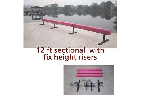 Gymnastics Balance Beams. 4', 8', Risers. 12 Options to Choose from