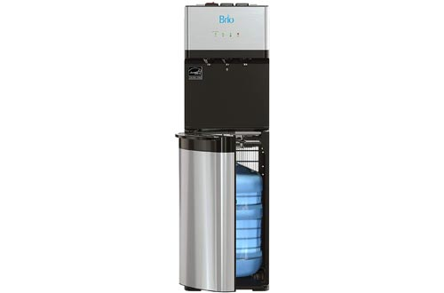 Brio Self Cleaning Bottom Loading Water Cooler Water Dispensers – Limited Edition - 3 Temperature Settings - Hot, Cold & Cool Water - UL/Energy Star Approved