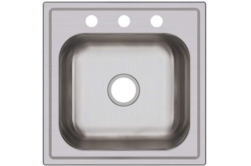 Elkay DPC12020103 Dayton Single Bowl Drop-in Stainless Steel Laundry Sinks