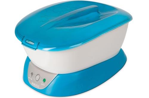 ParaSpa Paraffin Wax Baths   Wax Warmer   BONUS 3 lb . Paraffin Wax & 20 Hand Liners   Soothing Hand & Foot Spa   Moisturizing System   Hypoallergenic   HoMedics
