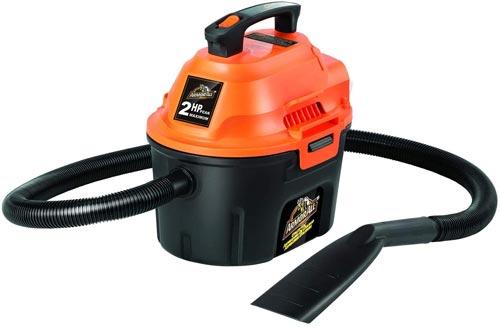 Armor All, AA255 , 2.5 Gallon 2 Peak HP Wet/Dry Utility Shop Vacuums