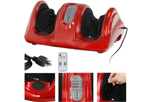 ZENY Foot Massagers Machine Deep Kneading and Rolling Shiatsu Massage for Leg Calf Ankle Personal Home Health Care Tool,Muscles Relaxation