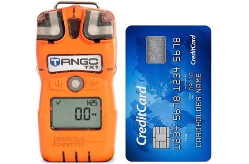 Single Gas Detector, H2S, 0-200ppm, Orange