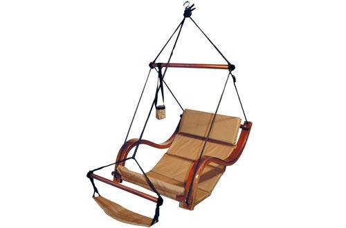 Hammaka Nami Deluxe Hanging Hammock Lounger Chairs In Tan