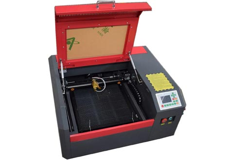 50W CO2 Laser Engraving Machines with 400x400mm Working Area (50w 4040 RuiDa Controller)
