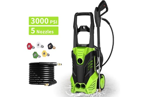 Homdox 3000 PSI Pressure Washers Electric 1800W