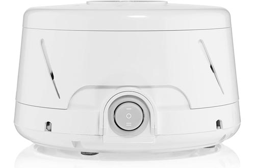 Dohm Classic (White) | The Original White Noise Machines | Soothing Natural Sound from a Real Fan | Noise Cancelling | Sleep Therapy, Office Privacy, Travel | For Adults & Baby | 101 Night Trial