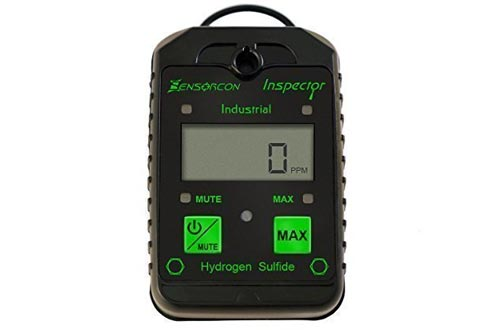 Tough, Waterproof, USA Made: H2S Monitors, Intrinsically Safe Hydrogen Sulfide Detector (H2S Inspector Industrial)