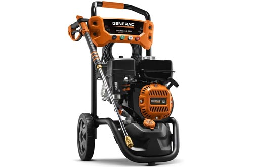 Generac 7954 Pressure Washers 2900PSI, Black, Orange