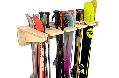 Ponderosa Ski Wall Racks