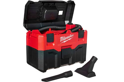 Milwaukee 0880-20 18-Volt Cordless Wet/Dry Vacuums, Red