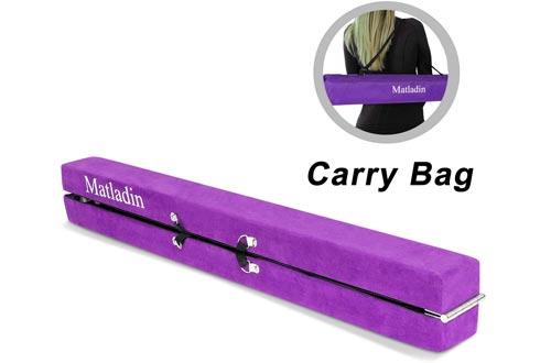 Matladin Balance Beams Gymnastics for Home Toddler Kids, with Carry Bag, Extra Firm Balance Beams Gymnastics Equipment