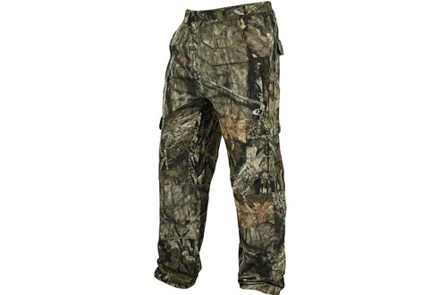 Mossy Oak Men's Tibbee Technical Lightweight Camo Hunting Pants