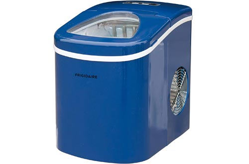 Frigidaire Portable Compact Makers, Counter Top Ice Making Machine, 26lb per day (Blue) (EFIC108-BLUE)
