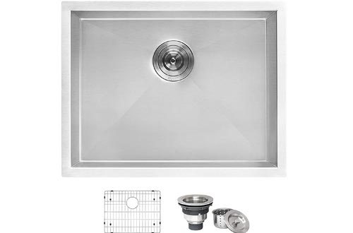 "Ruvati 23"" x 18"" x 12"" Deep Laundry Utility Sinks Undermount 16 Gauge Stainless Steel - RVU6100"