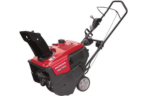 "Honda Power Equipment HS720ASA 20"" 187cc Single-Stage Snow Blowers with Dual Chute Control and Electric Starter"