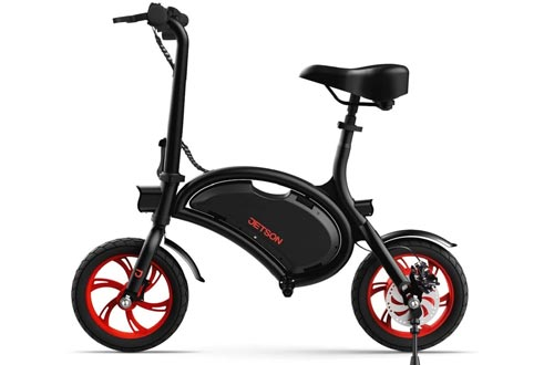 Jetson Bolt Folding E-Bikes Full Throttle Electric Bicycle with LCD Display