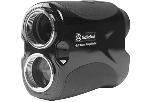 TecTecTec VPRO500 Golf Rangefinders - Laser Range Finder with Pinsensor - Laser Binoculars - with Battery