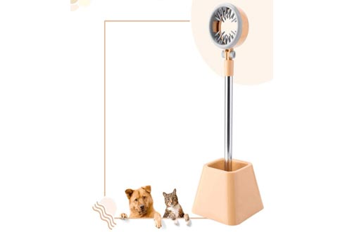 HUIFEIDEYU Blow Dryer Stand, Hair Dryer Stands Hands Free, Hair Dryer Holder 180 Degrees Rotation, Pet Rotatable Stands Hair Dryer Holder, Dog Grooming Supplies