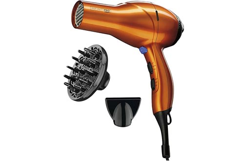 INFINITIPRO BY CONAIR 1875 Watt Salon Performance AC Motor Styling Tool/Hair Dryers; Orange