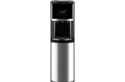 Primo Bottom Loading Water Cooler - 3 Temperature Settings, Hot, Cold, Cool - Energy Star Rated Water Dispensers w/Child-Resistant Safety Feature Supports 3 or 5 Gallon Water Jugs