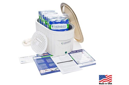 Therabath Professional Thermotherapy Paraffin Baths - Arthritis Treatment Relieves Muscle Stiffness - For Hands, Feet, Face and Body - 6 lbs of Paraffin Wax
