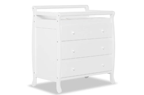Dream On Me Liberty Collection 3 Drawer Changing Tables, White