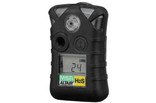ALTAIR: Hydrogen Sulfide H2S (Low: 10ppm, High: 15ppm), Black