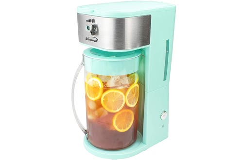 Brentwood KT-2150BL Iced Tea and Coffee Makers with 64 Ounce Pitcher, Blue