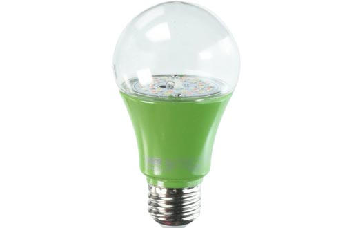 "Feit Electric A19/11K/GROW/LED Bulbs, A19 4.5"" H x 2.25"" D, 448nm Blue to 630nm Red Spectrums"