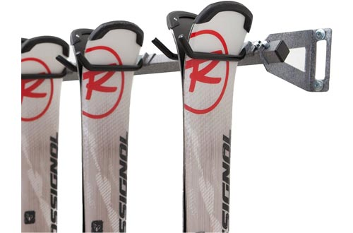 Monkey Bars Storage Wall Mounted Ski Racks (6-Pair)
